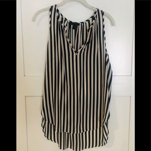 J. Crew high/low striped tank - Size 10